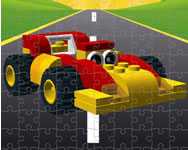 Toy cars jigsaw